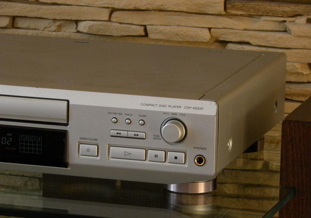 SONY CDP-XE520 CD播放机