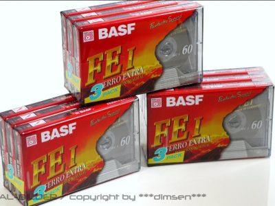 BASF FE-I C60 空白磁带