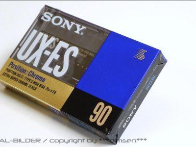 SONY UX-ES90 空白带