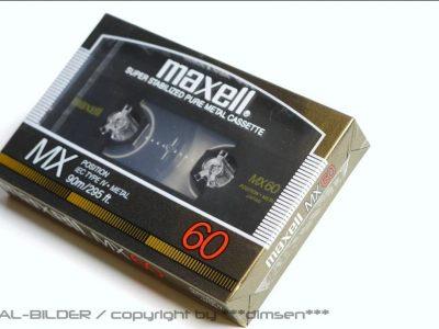 Maxell MX-60 空白带