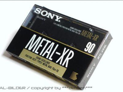 SONY METAL XR90 空白带