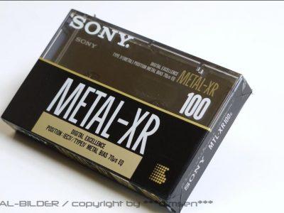 SONY METAL-XR 100 空白带