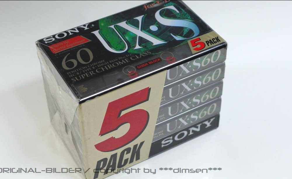 SONY UX-S60 空白录音带