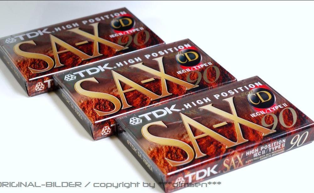 TDK SA-X90 空白带