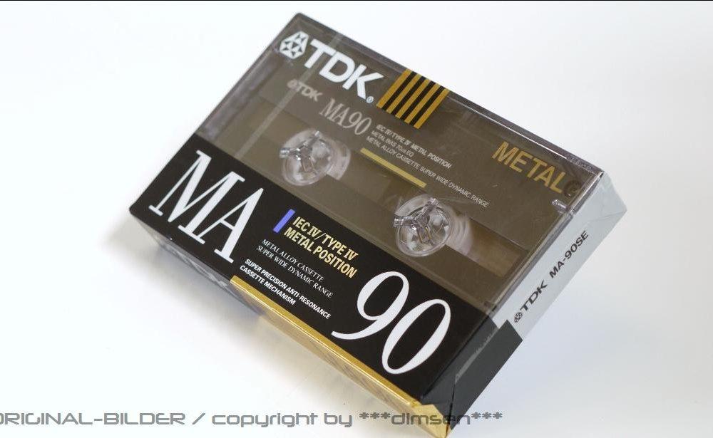 TDK MA-90 Gold 空白带