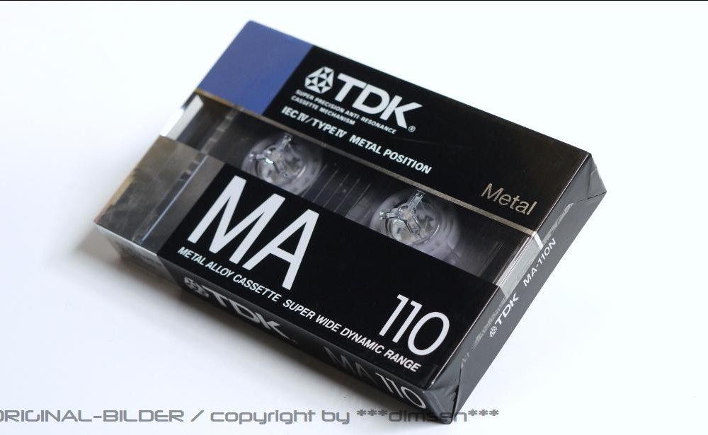 TDK MA-100 空白带