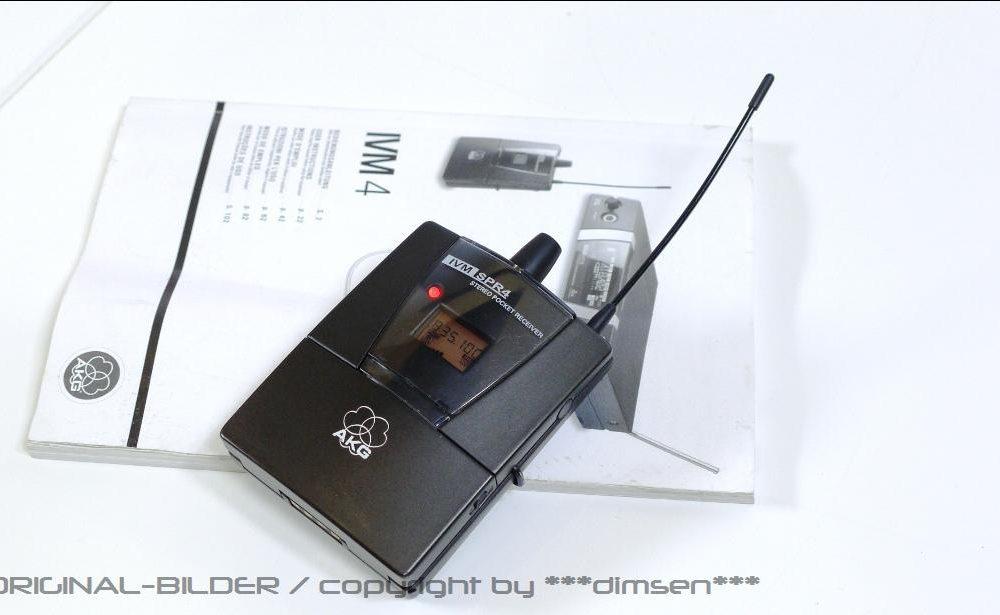 AKG SPR-4 无线话筒接收机