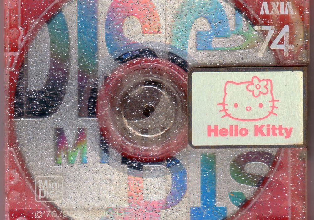 AXIA Hello Kitty 74 minute MiniDisc (1998)