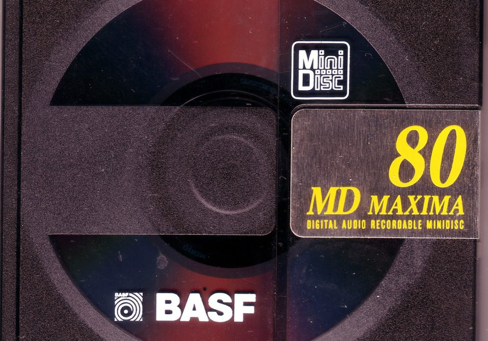 BASF MD 80 Maxima MiniDisc