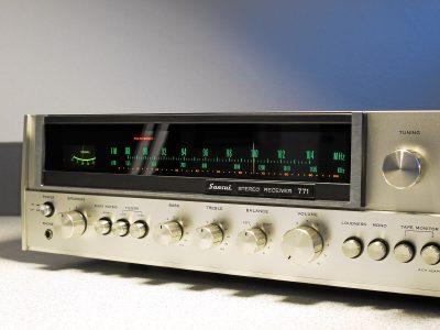 山水 SANSUI 771 FM/AM 收音头
