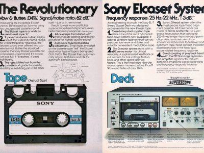 Sony EL-7 Advert