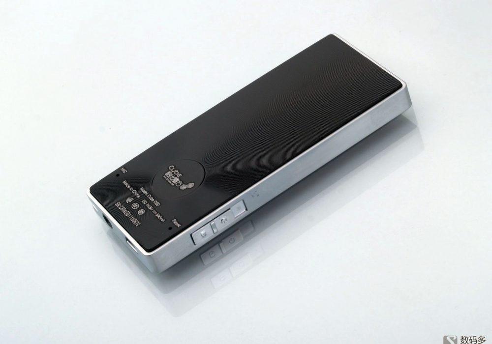 Cube 酷比魔方 C60 便携式数字播放器-背面
