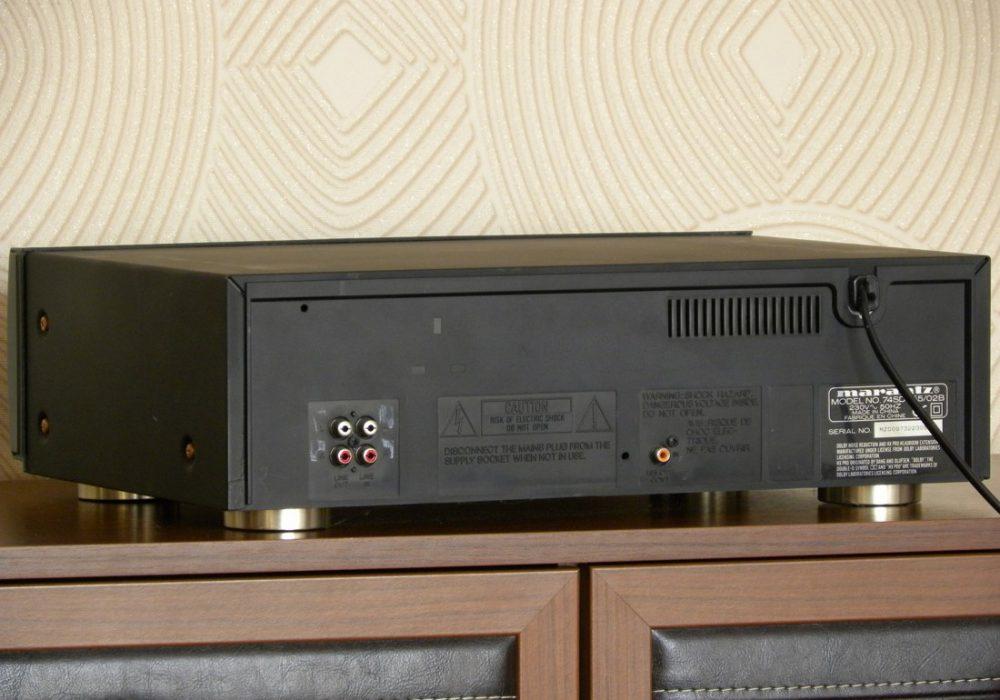 marantz SD555 双卡座