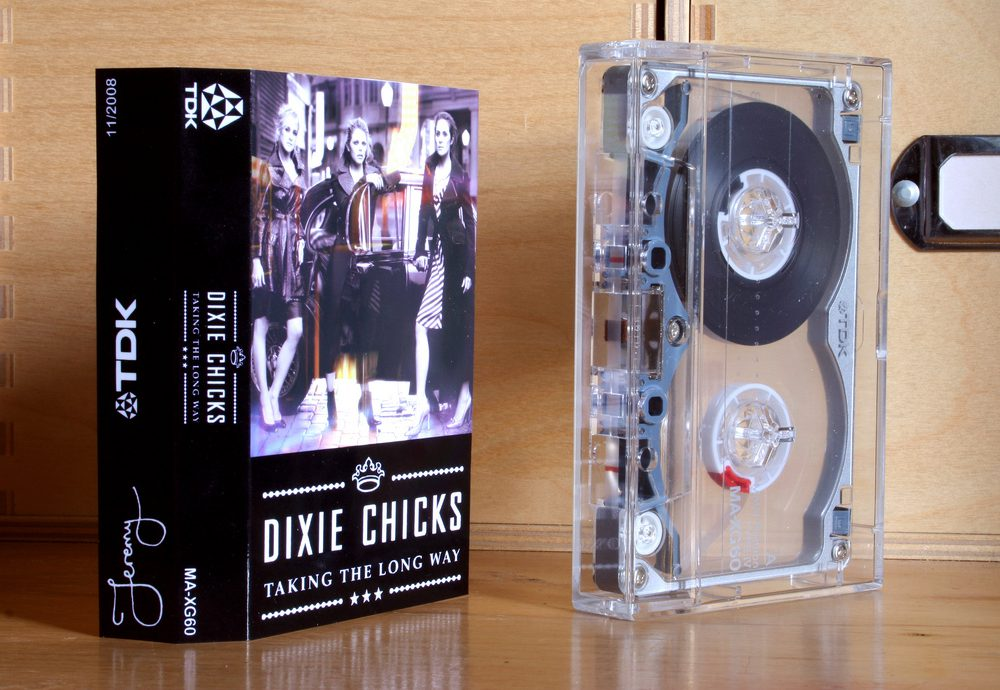 Homage to the Humble Cassette Tape - Dixie Chicks / Taking The Long Way (2006)