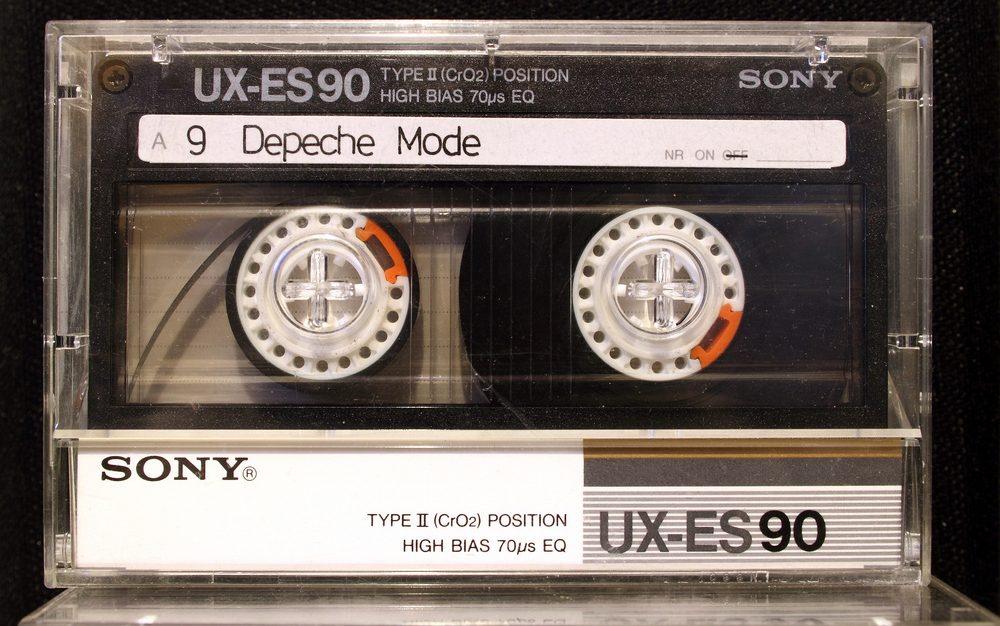 Sony UX-ES90 cassette tape (1985)