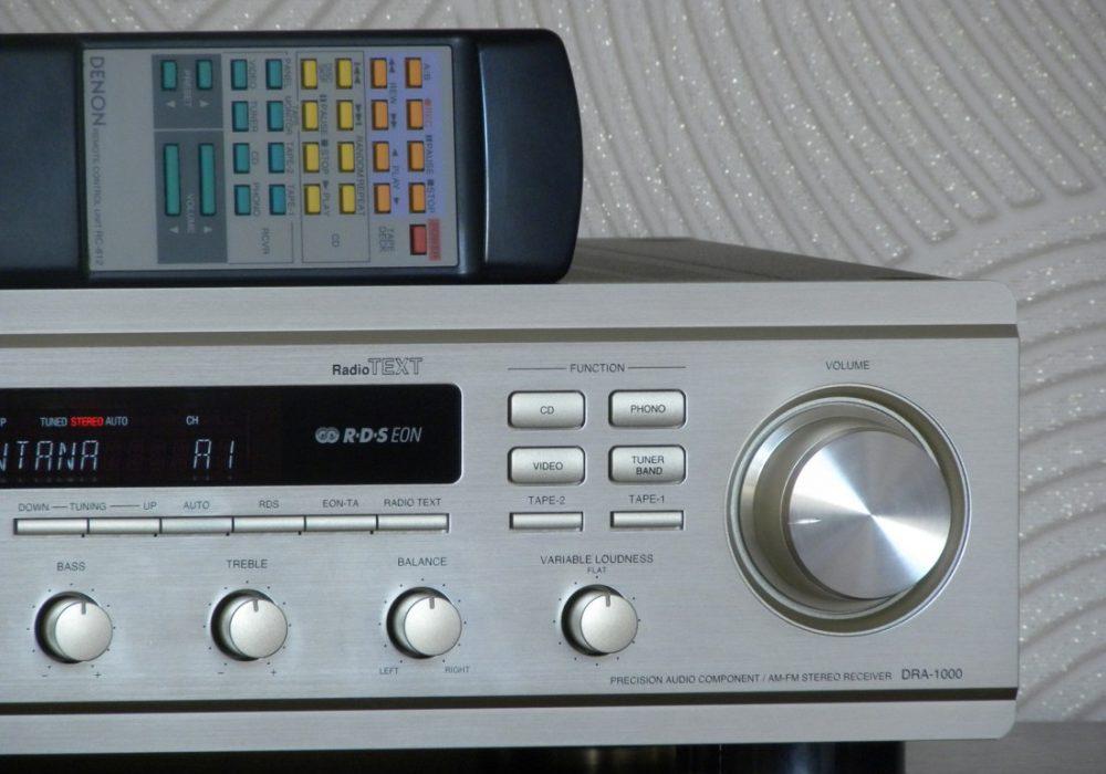 天龙 DENON DRA-1000 功率放大器