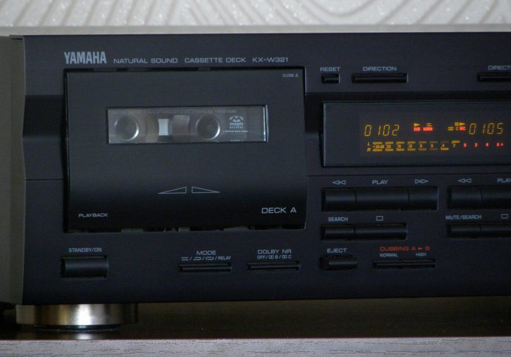 YAMAHA KX-W321 双卡座