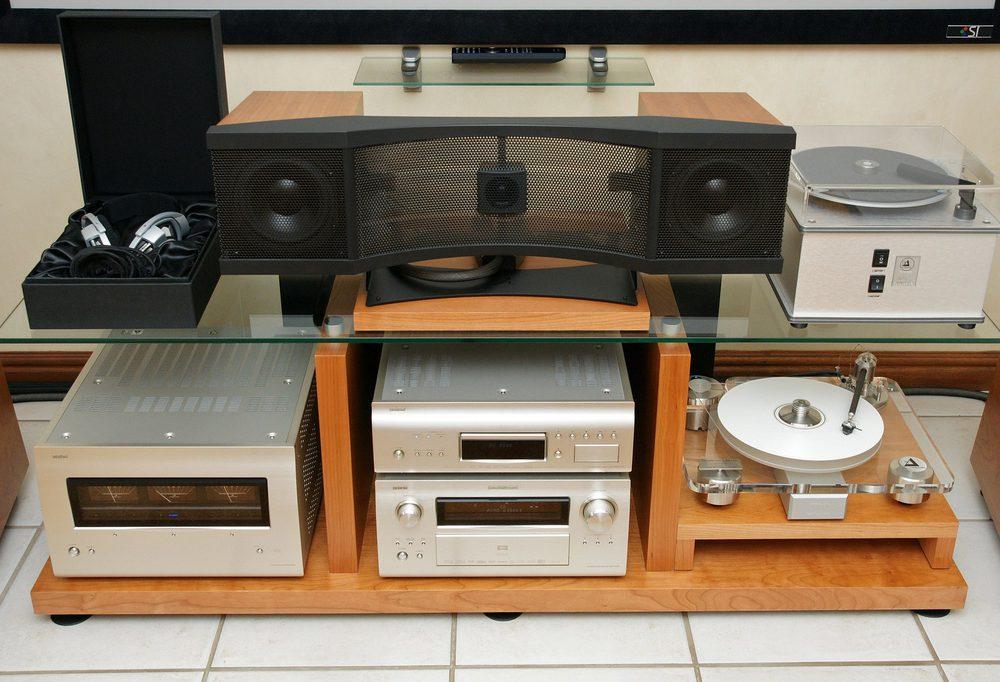 DENON Home Theatre Equipment with Martin Logan Electrostatic Speakers