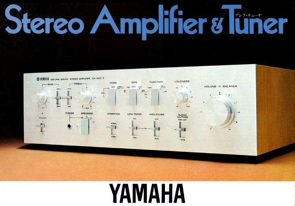 【广告】Amplifier Tuner 1976