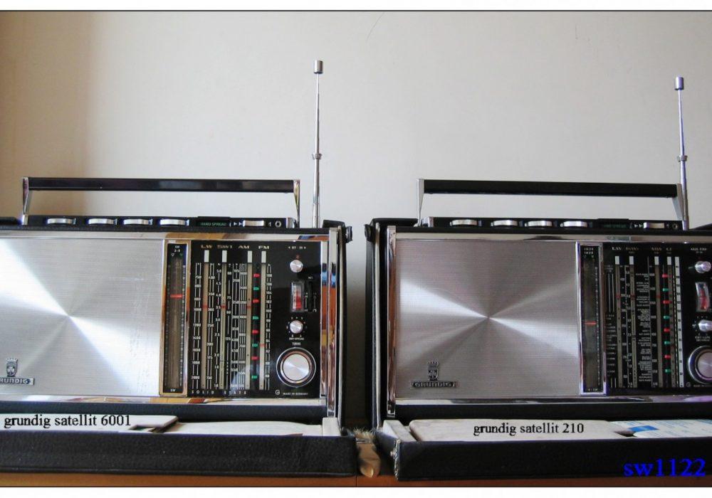 德国 根德 GRUNDIG Satellite 210/6001 收音机