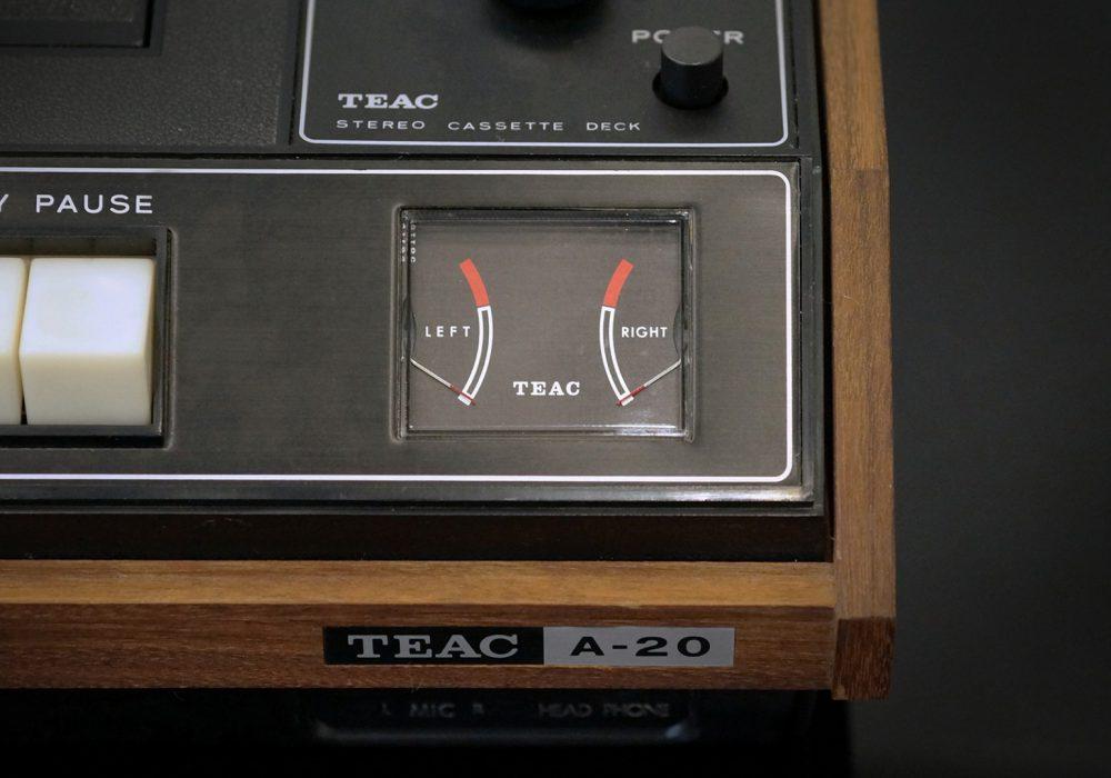【广告】TEAC A-20 卡座