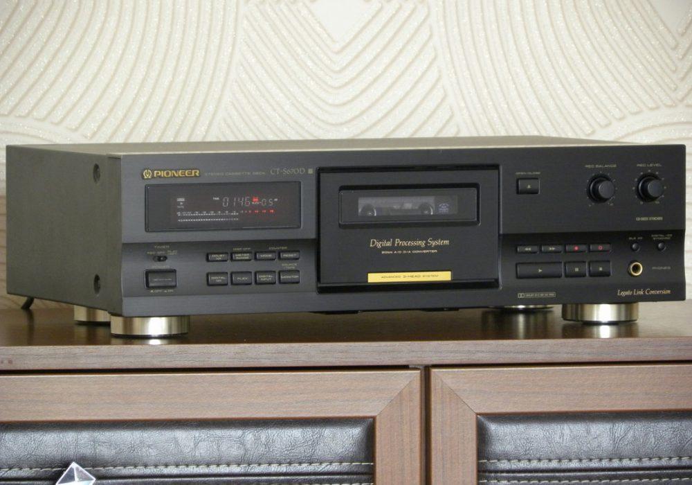 PIONEER CT-S670D 卡座