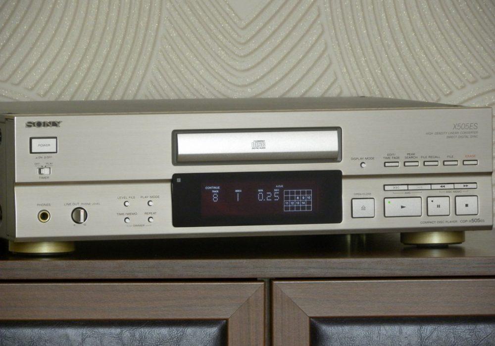 SONY CDP-X505ES CD播放机
