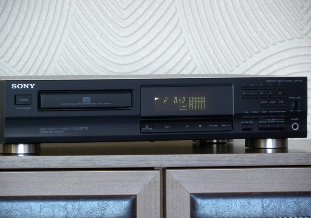 SONY CDP-215 CD播放机