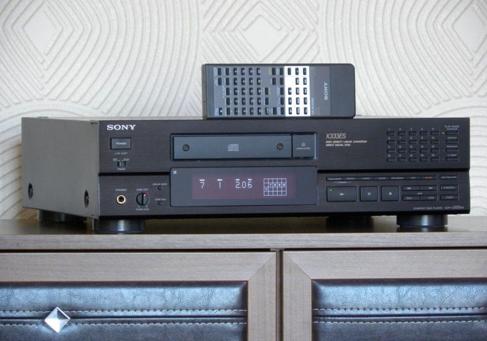 索尼 SONY CDP-X333ES CD播放机