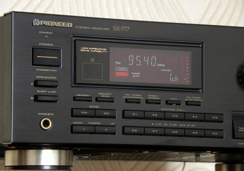PIONEER SX-777 收扩机