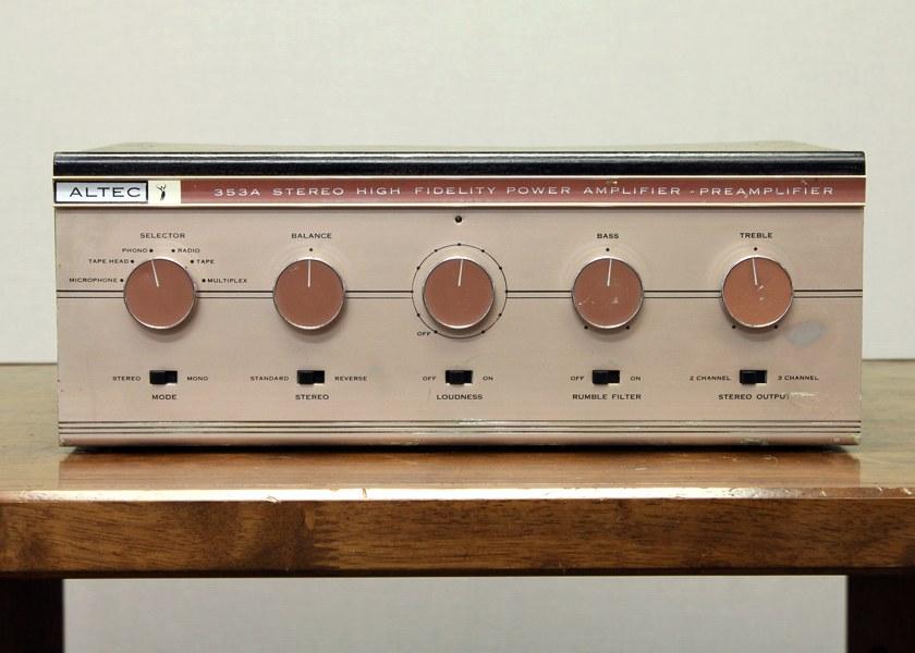 ALTEC 353A 电子管功放
