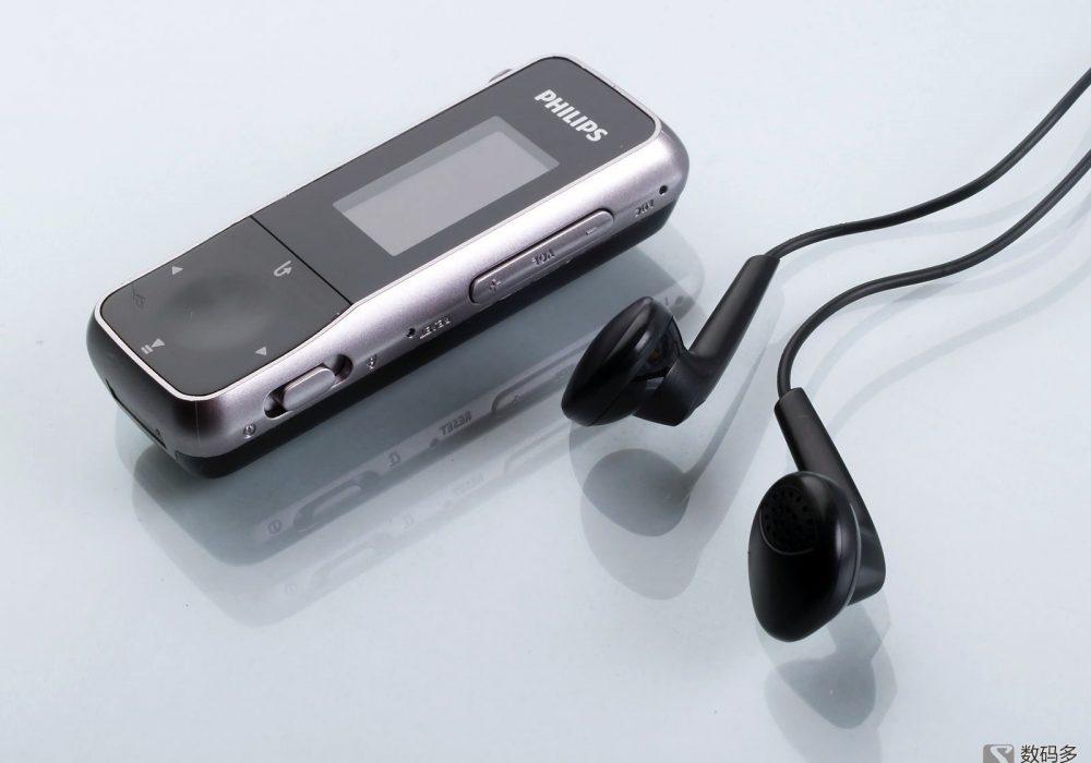 Philips飞利浦 GoGear Mix SA2MXX02K 便携式影音播放器-与原配耳机