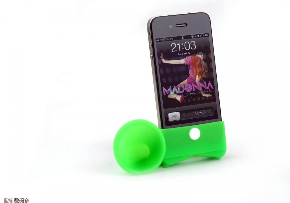 Bone Collection-Horn Stand for iPhone4 号角扬声器支架 [Soomal]