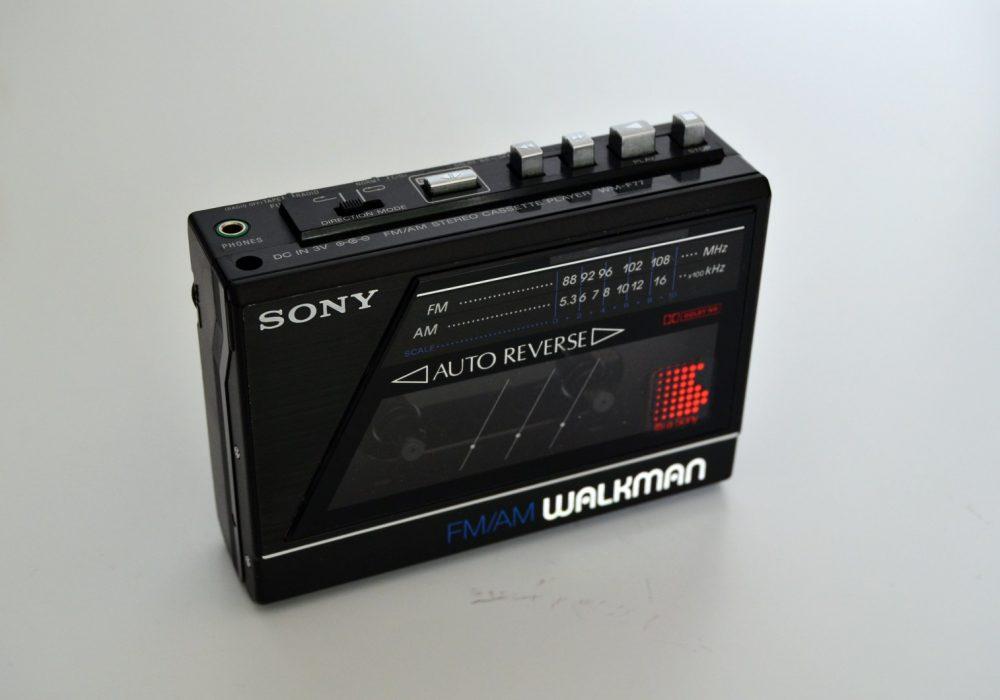 索尼 SONY WM-F77 磁带随身听