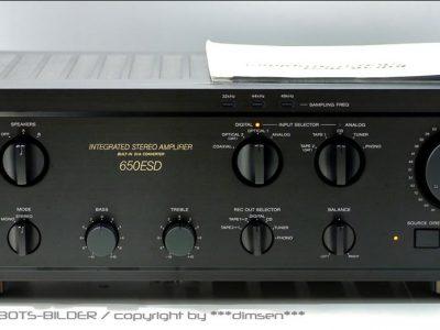 索尼 SONY TA-F650ESD 合并式功放