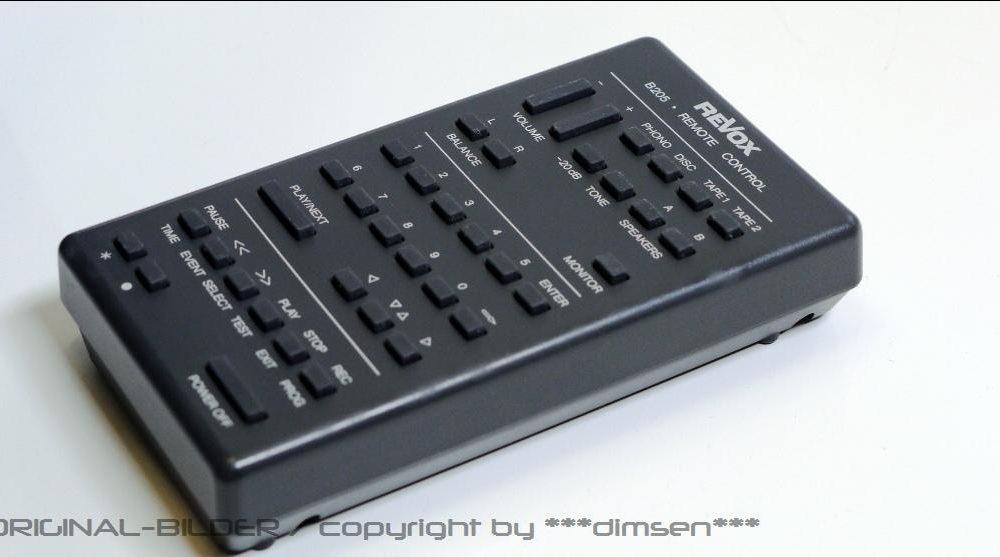 REVOX B205 遥控器