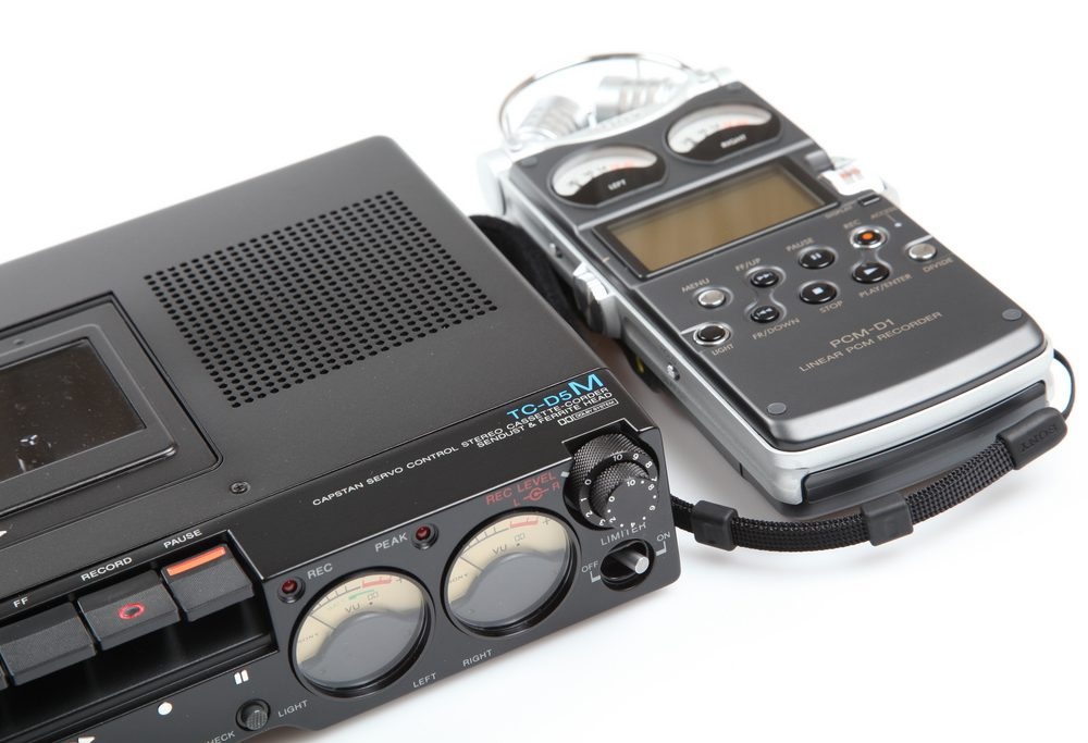 Sony TC-D5M (1978) & PCM-D1 (2005)