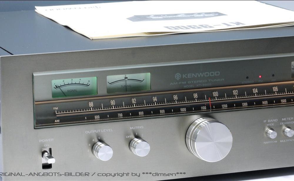建伍 KENWOOD KT-9900 立体声收音头