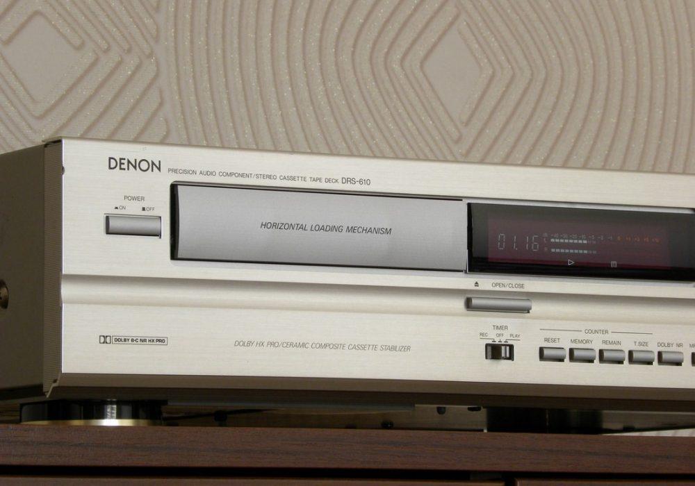 DENON DRS-610 卡座