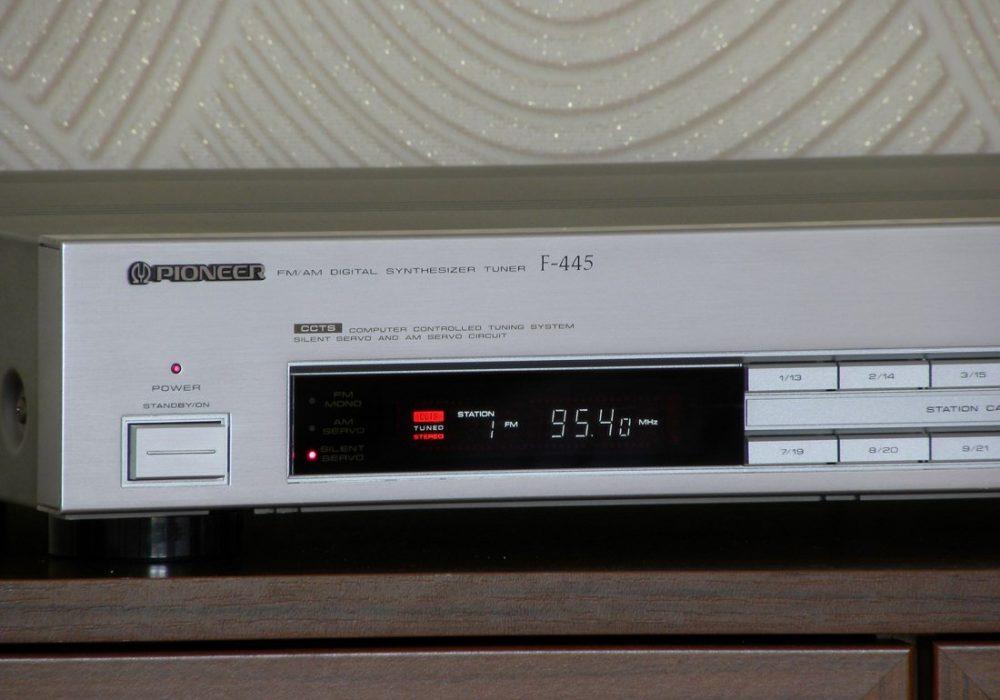 PIONEER F-445 FM/AM Tuner 收音头