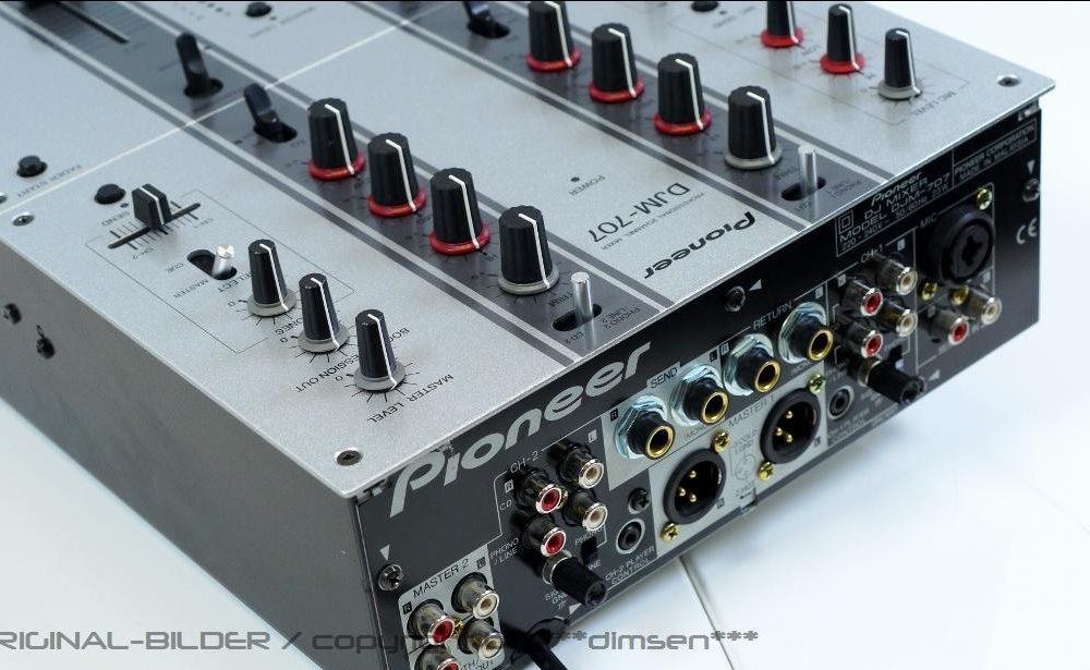 先锋 PIONEER DJM-707 小型混音器