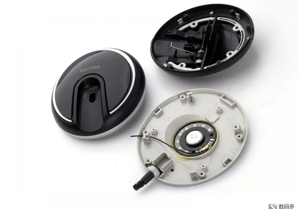 Philips 飞利浦 SHP8500 头戴式耳机暴力拆解 图集[Soomal]