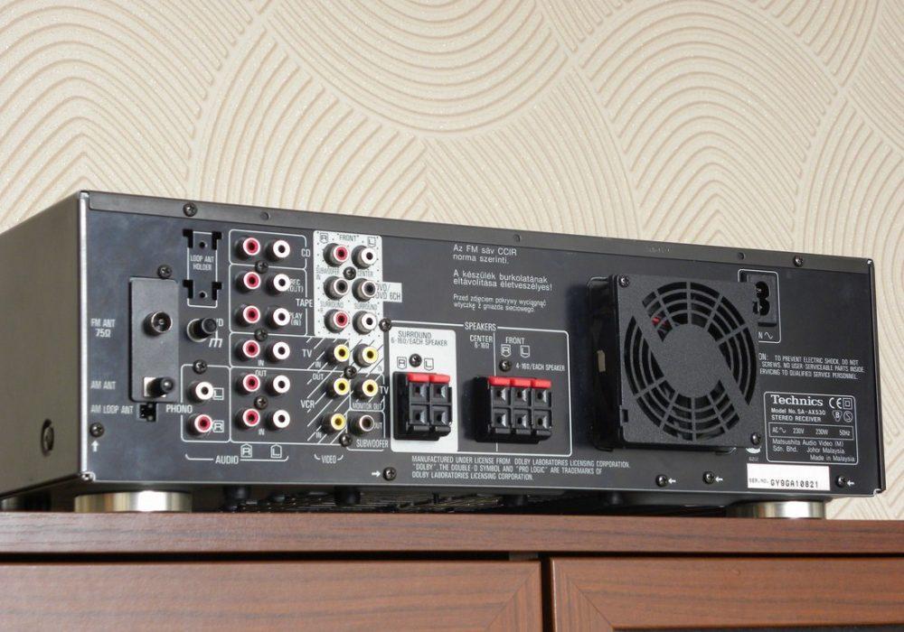 Technics SA-AX530 AV功率放大器
