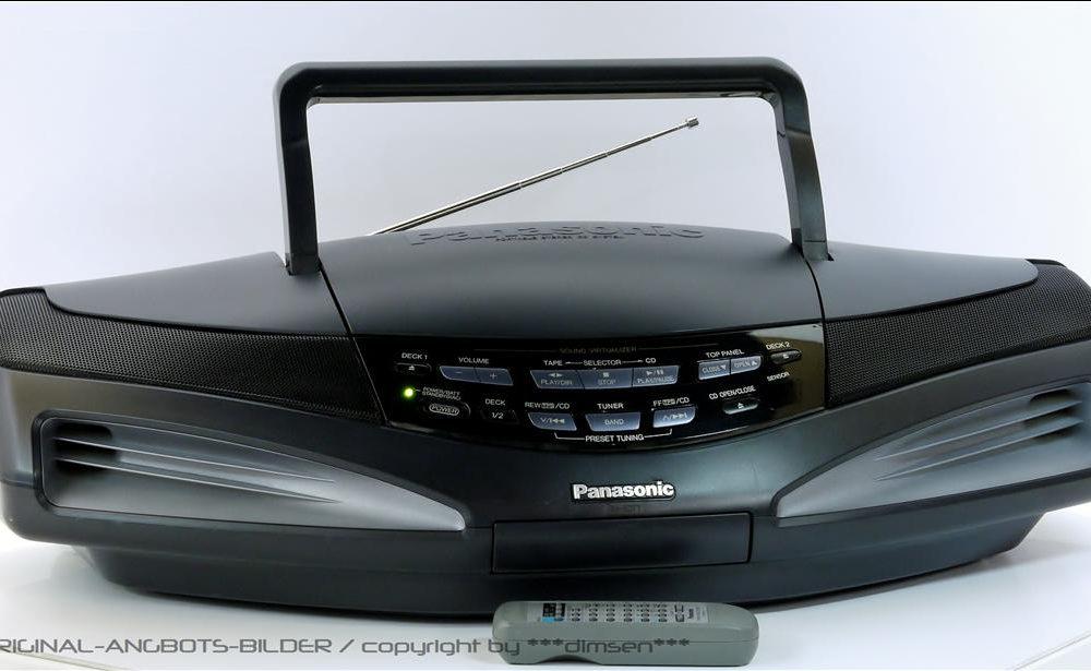 松下 PANASONIC RX-ED77 面包机 收录机