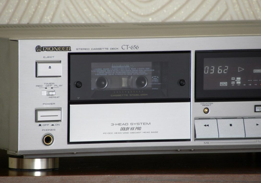 PIONEER CT-656 卡座