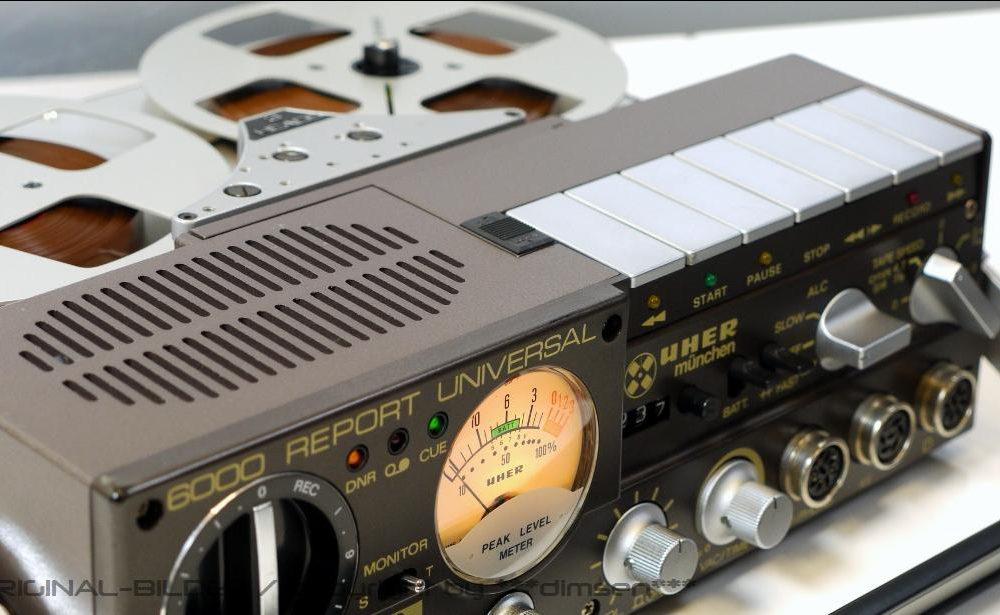 UHER 6000 便携开盘机