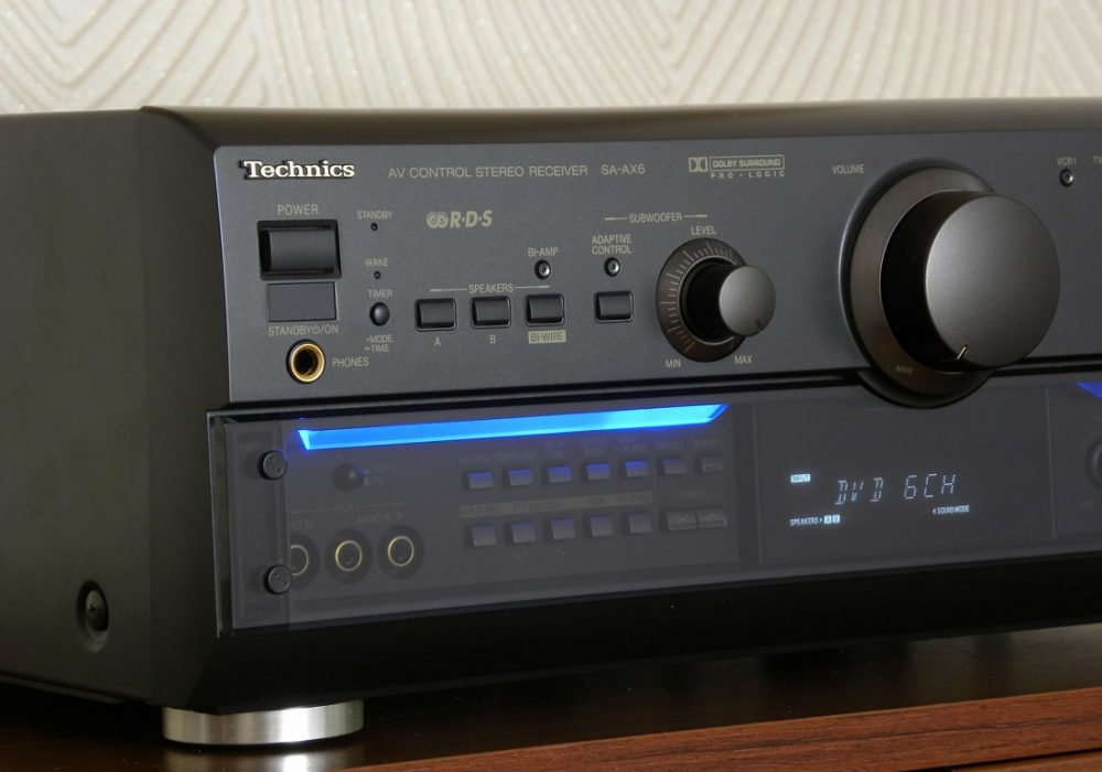Technics SA-AX6 AV功率放大器