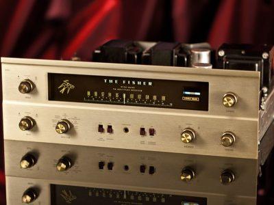 Fisher 400 电子管收音头