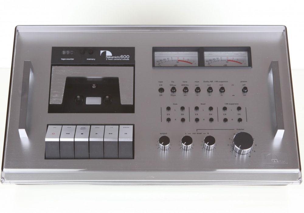 中道 Nakamichi 600 卡座 (1976)