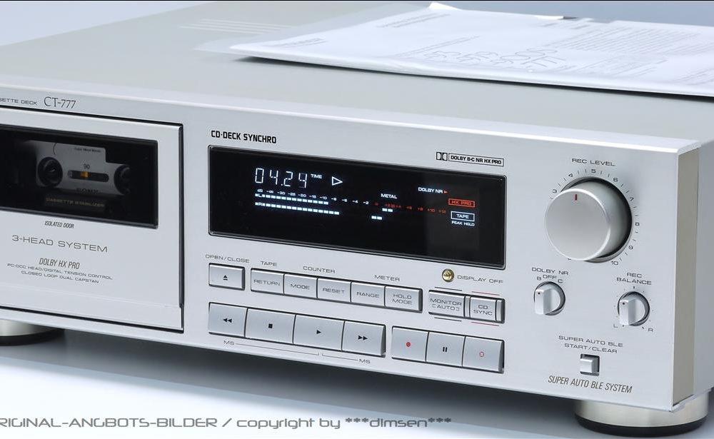 先锋 PIONEER CT-777 三磁头高级卡座